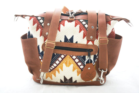 Medium Convertible Everyday Bag-Nieve