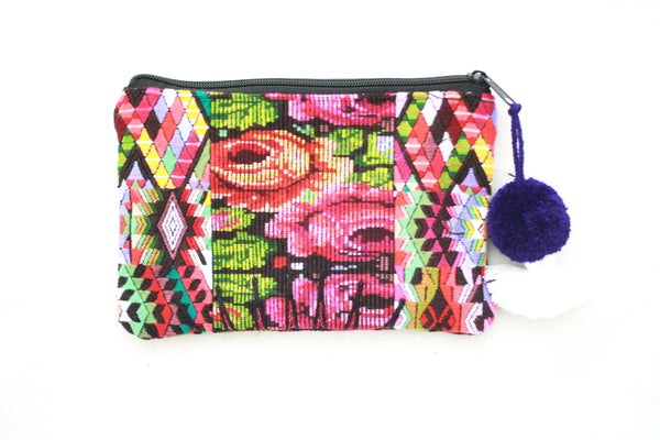 Huipil Cosmetic Bag-Tenango