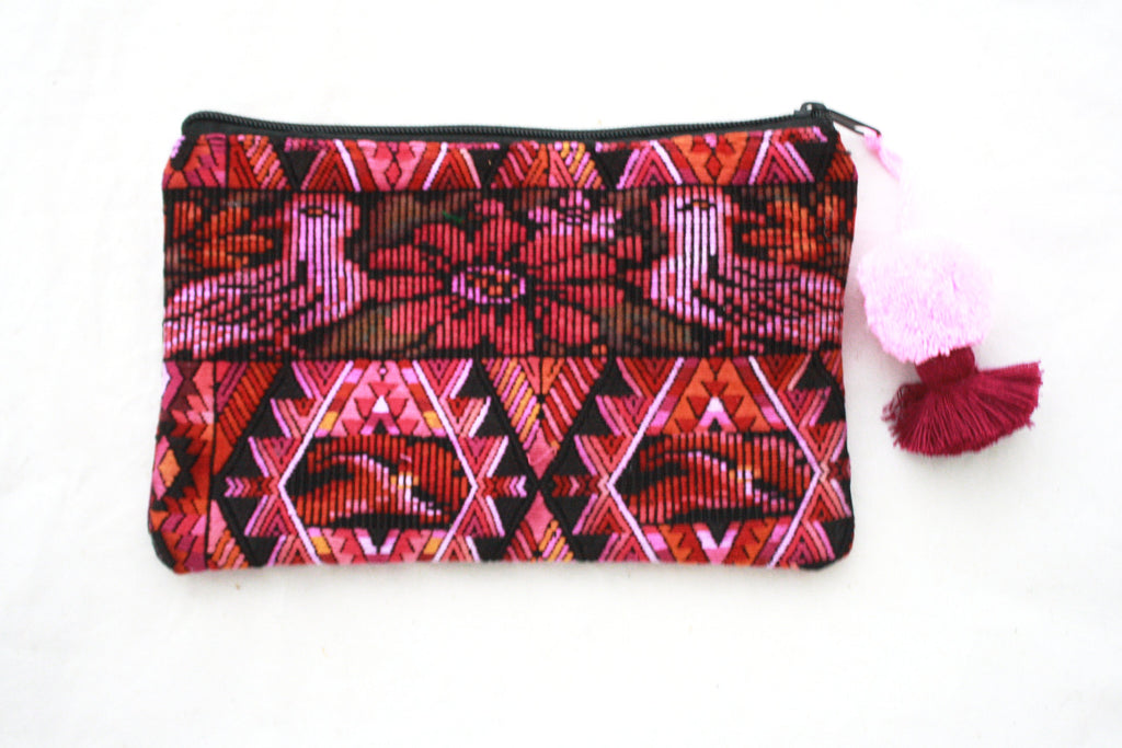 Huipil Cosmetic Bag-Antigua