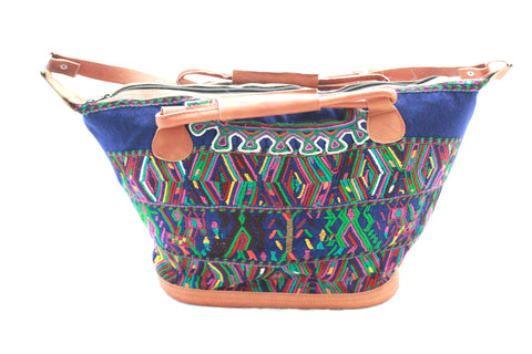 Medium Huipil Bag-Laguna