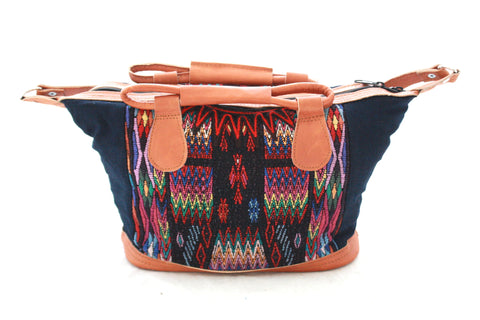 Small Huipil Bag-Semuc