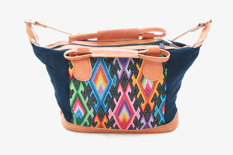 Small Huipil Bag-Arriba