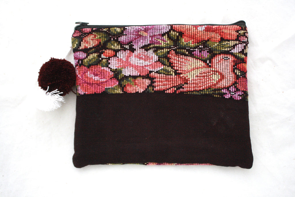Huipil Cosmetic Bag- Chisec