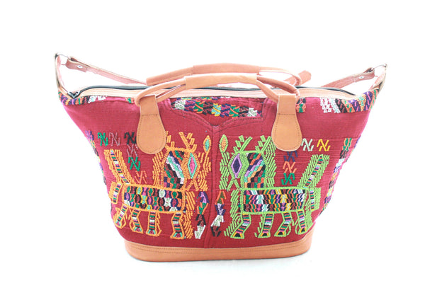 Medium Huipil Bag-Chapulin