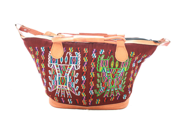 Medium Huipil Bag-Teleman