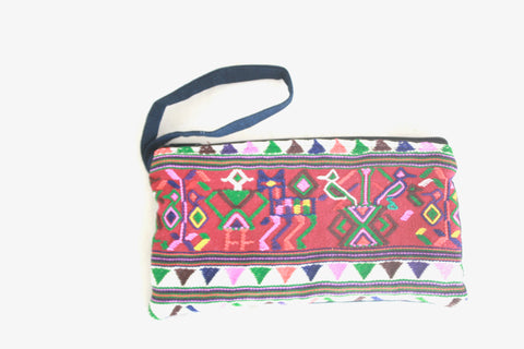 Huipil Clutch- Mixto
