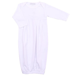 Magnolia Baby Christening Pleated Gown