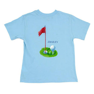 J Bailey Golf Logo Tee