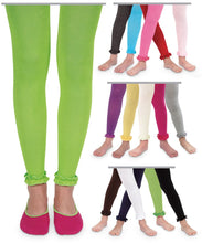 Load image into Gallery viewer, Jefferies Socks Pima Cotton Ruffle Footless Tights