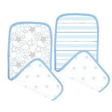 Load image into Gallery viewer, Muslin Baby Burpies Cloth (2 pack)