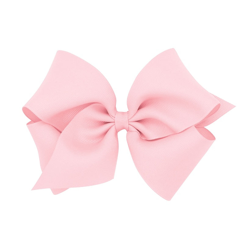 WEE ONES BOW - LIGHT PINK