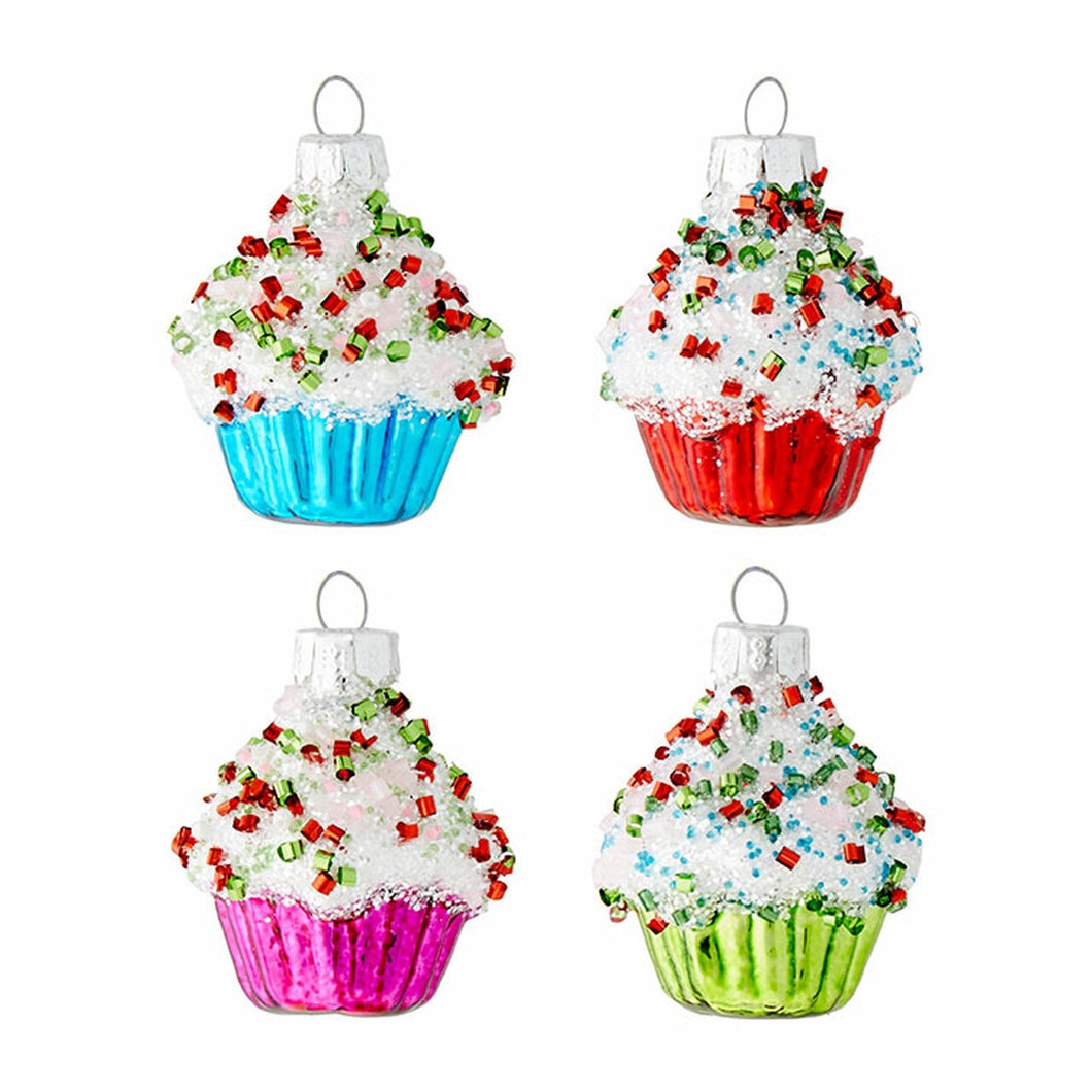 Raz Cupcake on Plate Ornament