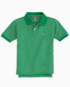 Striped Jack Performance Polo Shirt