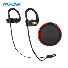 Load image into Gallery viewer, Mpow Flame Bluetooth Earphones Waterproof HiFi Stereo Sport Headphone Wireless Earbuds With Microphone&EVA Case For iPhone X/8/7