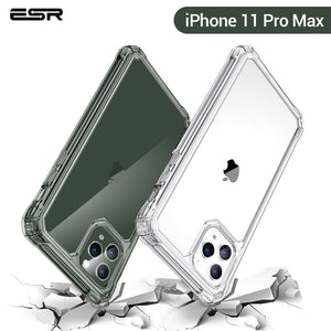 ESR Clear Case for iphone 11 Pro Max 11Pro 2019 Soft TPU Corner Protective Strengthen Drop-Proof Shockproof Cover for iPhone11