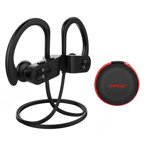 Mpow Flame Bluetooth Earphones Waterproof HiFi Stereo Sport Headphone Wireless Earbuds With Microphone&EVA Case For iPhone X/8/7