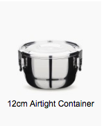 Airtight Stainless Steel Containers
