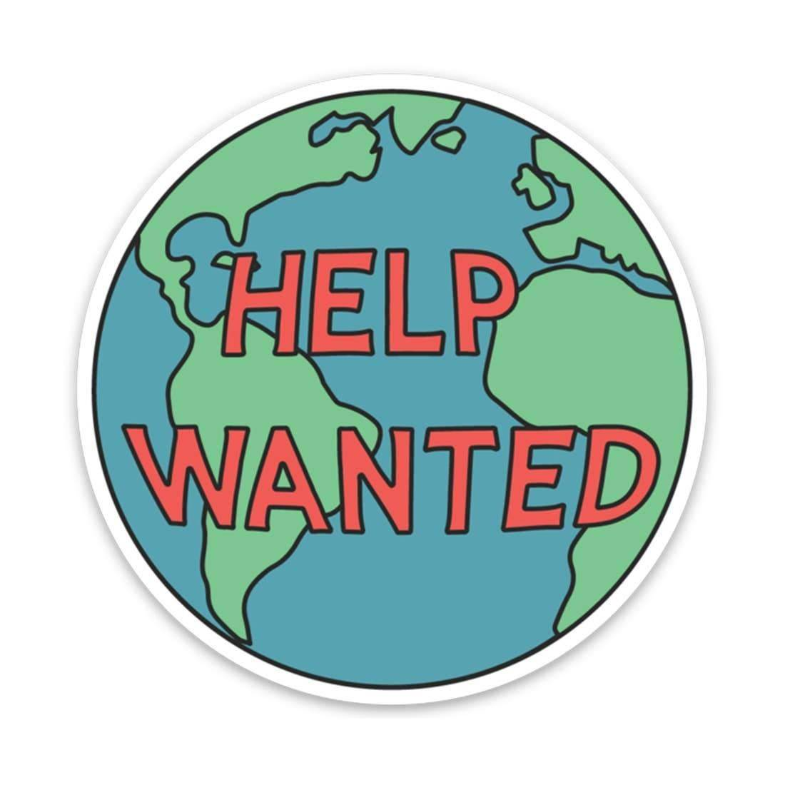 Keep Nature Wild | Help Wanted Sticker