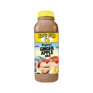 Big B's Ginger Apple Juice 16 Oz