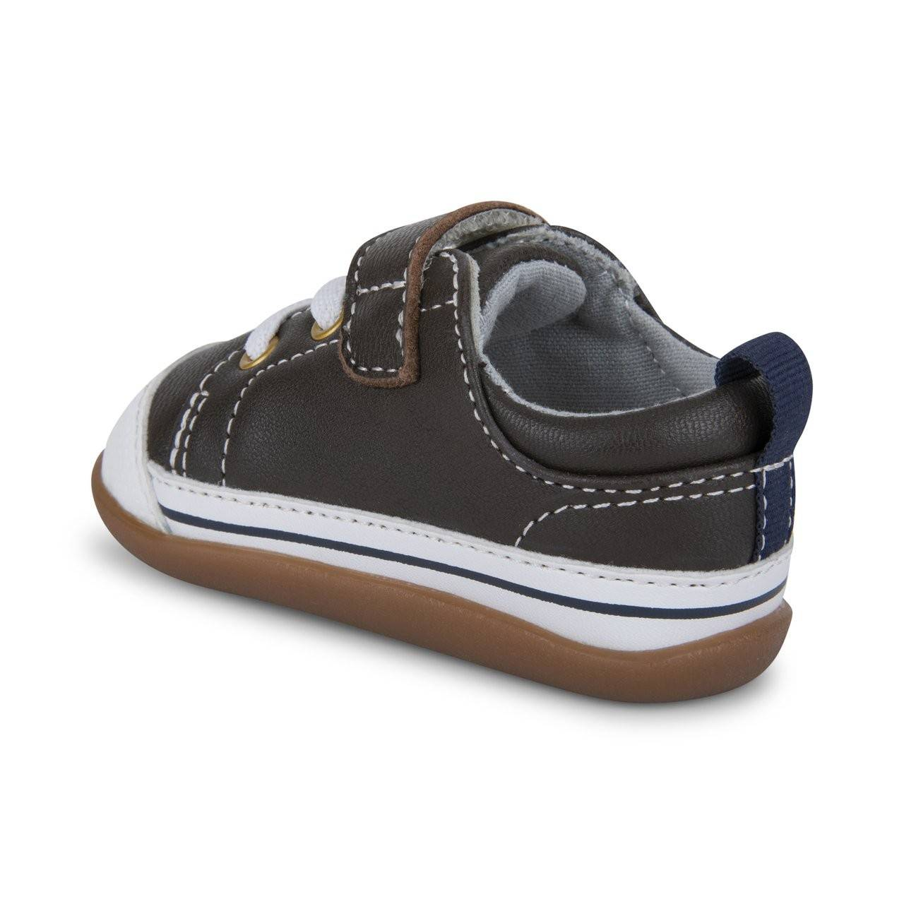 See Kai Run | Stevie II INF - Brown Leather - 3