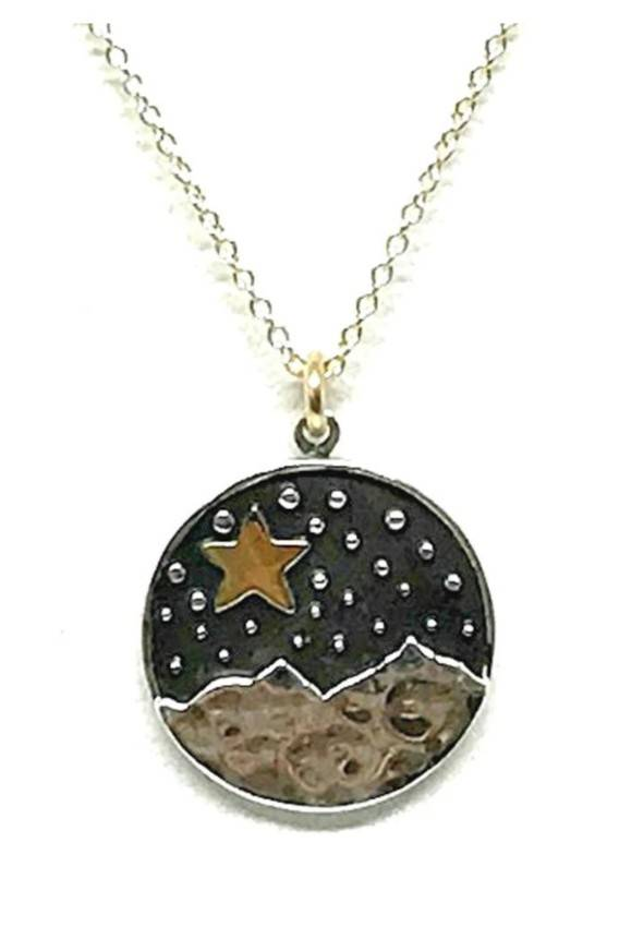 Athena | Star & Moon Necklace