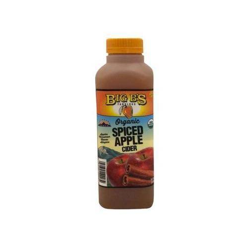 Big B's Spiced Apple Cider 16 Oz