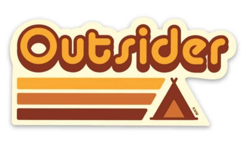 Keep Nature Wild | Outsider Sticker