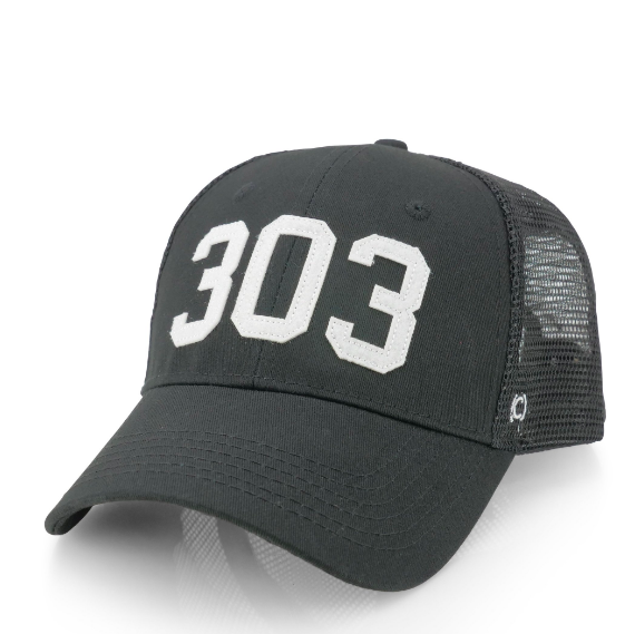 (Code) word Mile High | Black Trucker 303 | Hats | $35