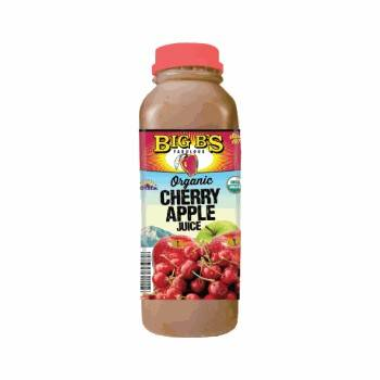 Big B's Cherry Apple Juice 16 Oz