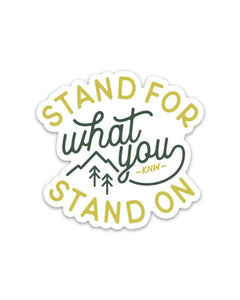 Keep Nature Wild | Stand For Sticker