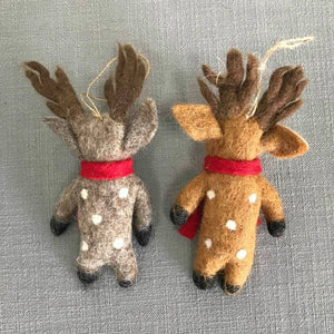 The Winding Road | Spotted Reindeer Ornament