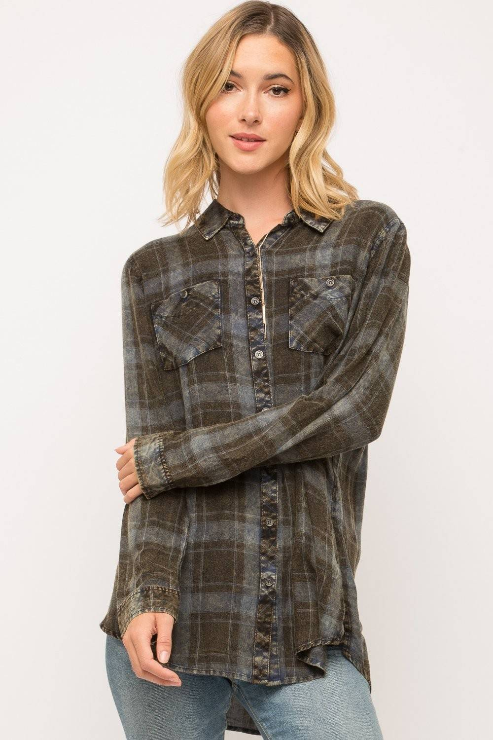 Mystree | Plaid Flannel
