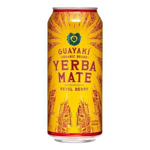 Guayaki Yerba Mate Revel Berry 16 Oz