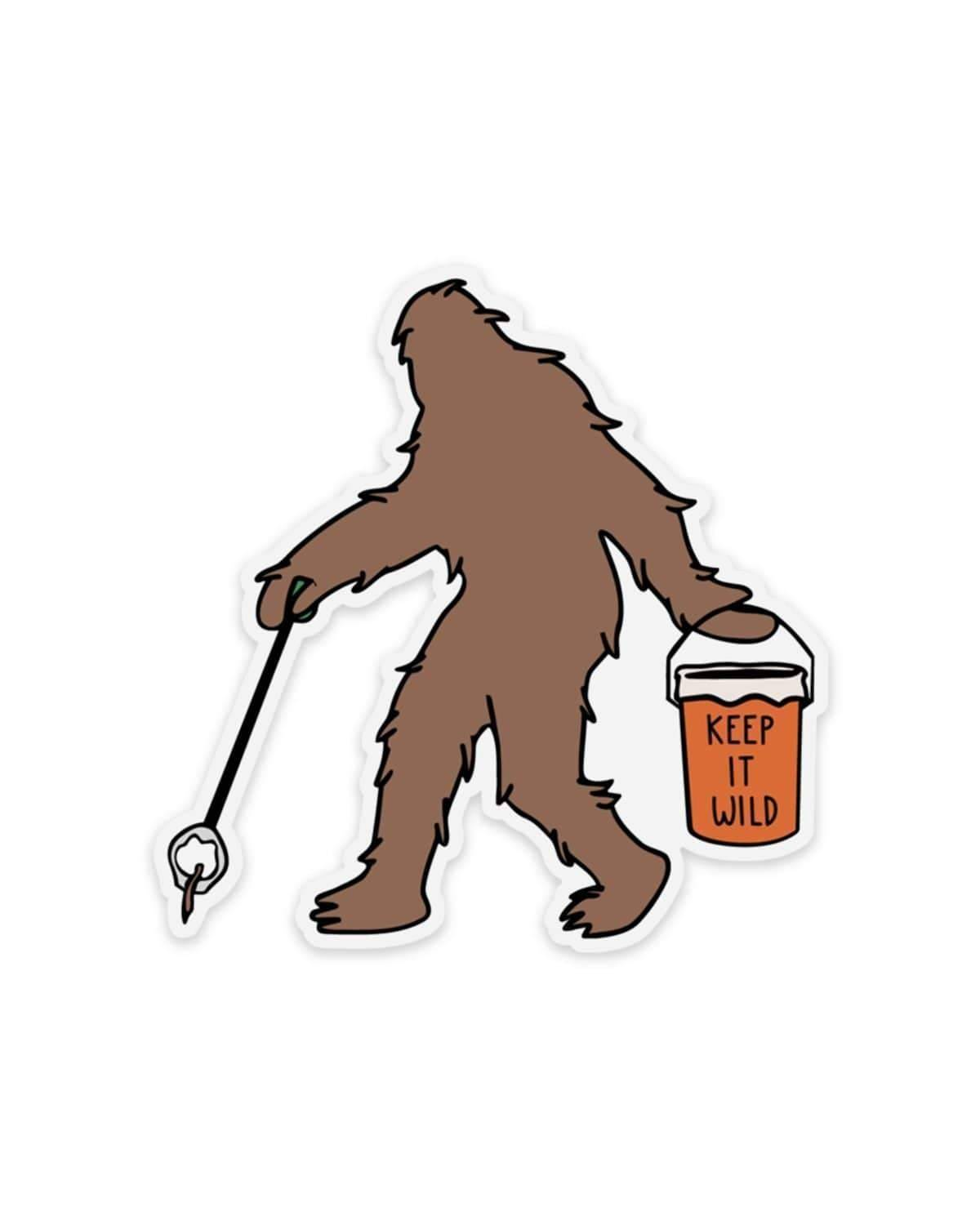 Keep Nature Wild | Sasquatch Sticker