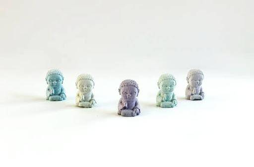 Uno Atelier Mini Buddha | Purple | Home & Gifts | $16