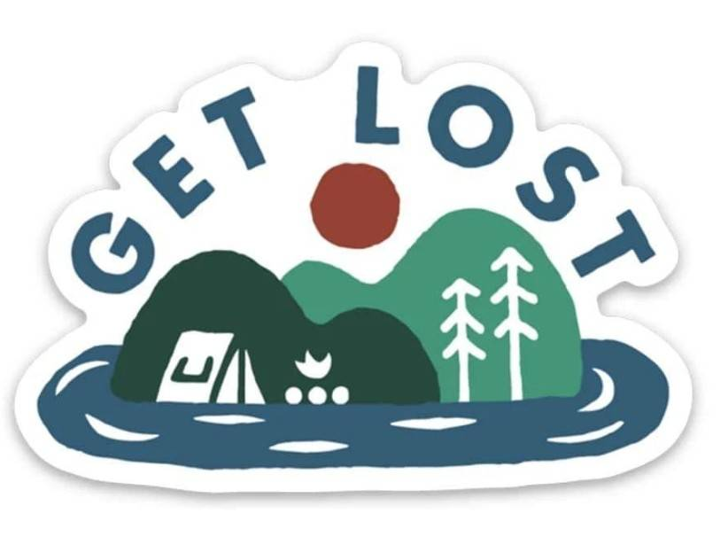 Keep Nature Wild | Get Lost Sticker