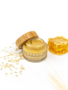 Orgaid Organic Face Polish | Honey Crystal & Brown Rice | Beauty & Wellness | $28