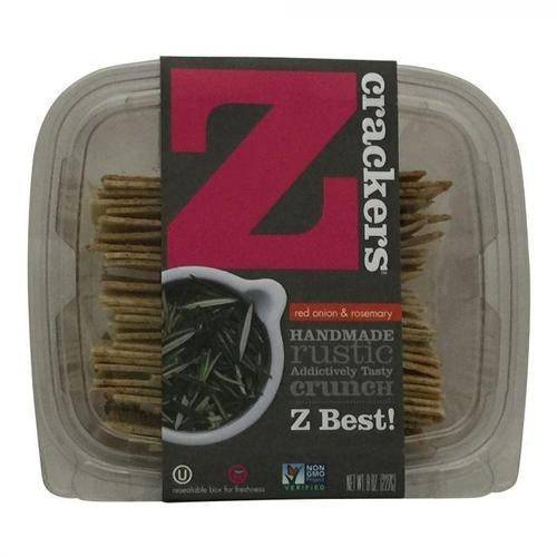 Z Crackers Red Onion Rosemary