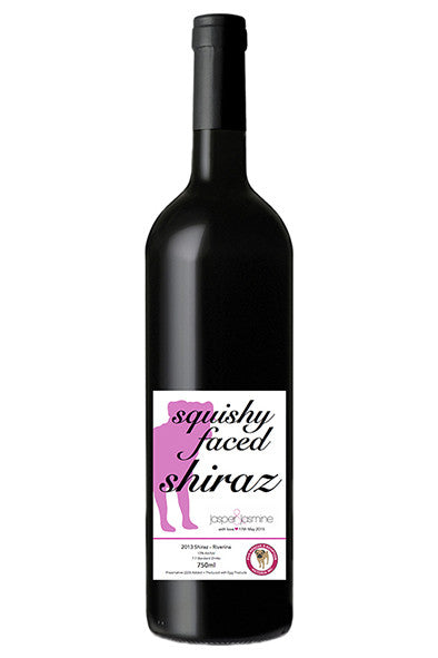 Limited Edition Jasper&Jasmine Wine - Squishy Faced Shiraz