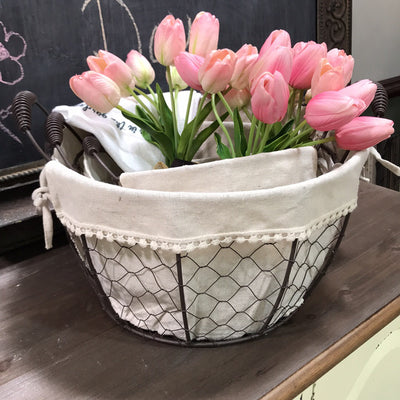 Set of 3 Round Baskets - Acosta's Home