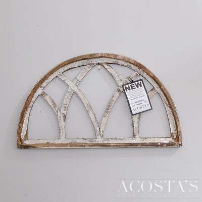 Half Moon Treviso Wood Window Arch