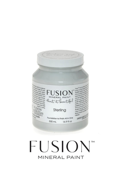 Fusion Mineral Paint-STERLING (Pint)
