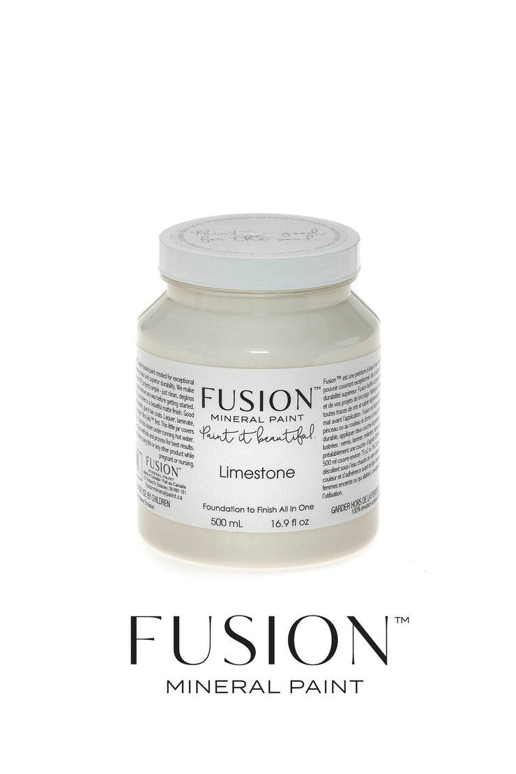 Fusion Mineral Paint-LIMESTONE (Pint) - Acosta's Home