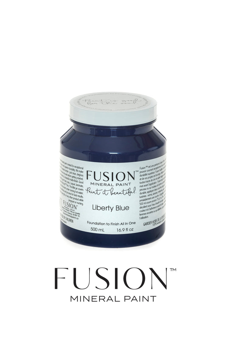 Fusion Mineral Paint-LIBERTY BLUE (Pint)