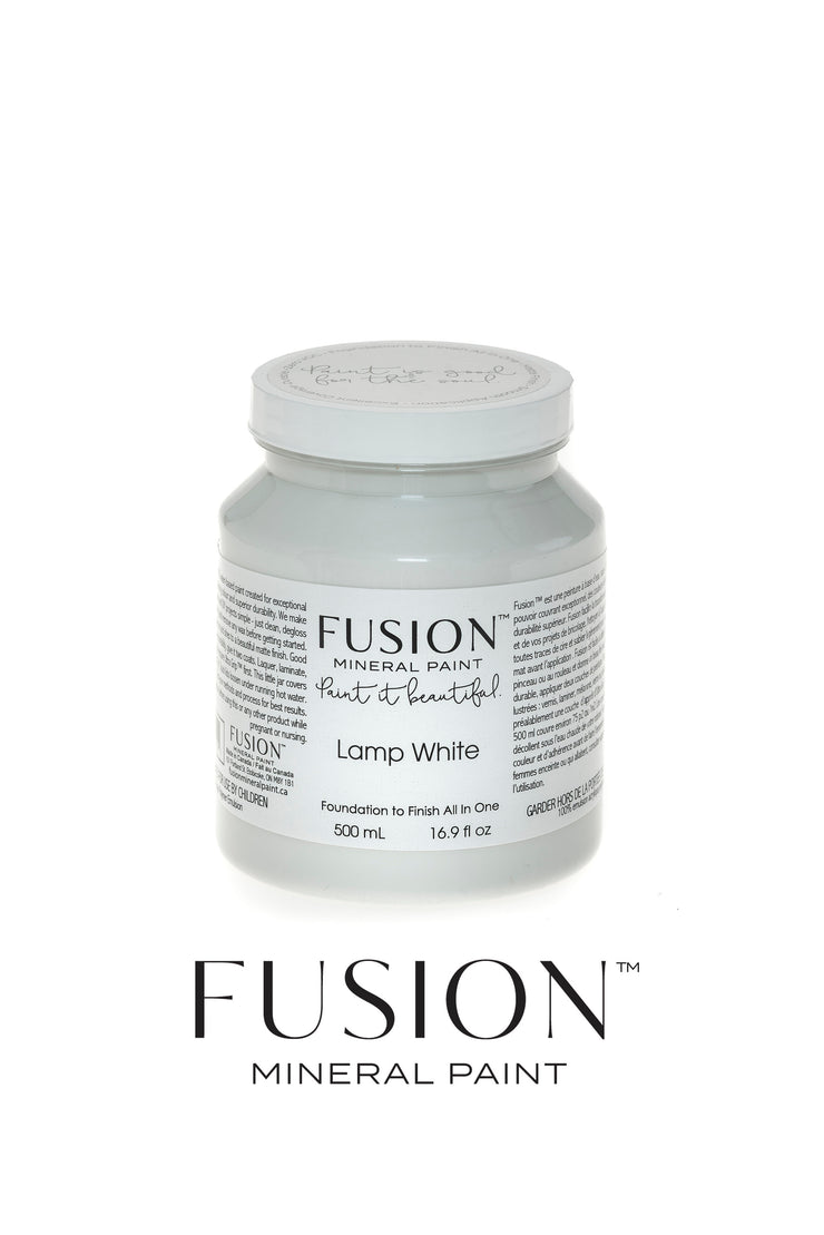 Fusion Mineral Paint-LAMP WHITE (Pint) - Acosta's Home