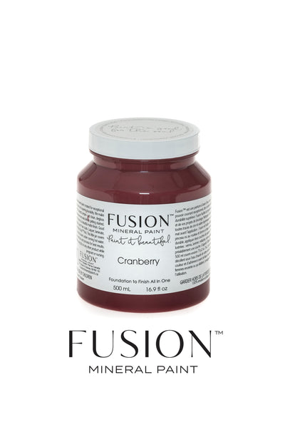 Fusion Mineral Paint-CRANBERRY (Pint)