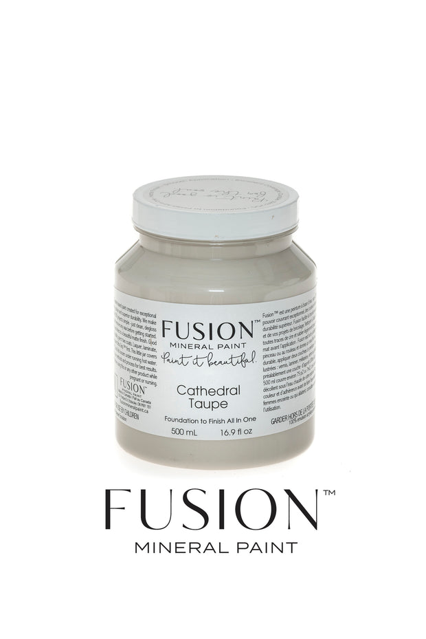 Fusion Mineral Paint-CATHEDRAL TAUPE (Pint)