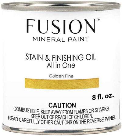 Fusion Mineral Paint-Stain & Finishing Oil - Golden Pine