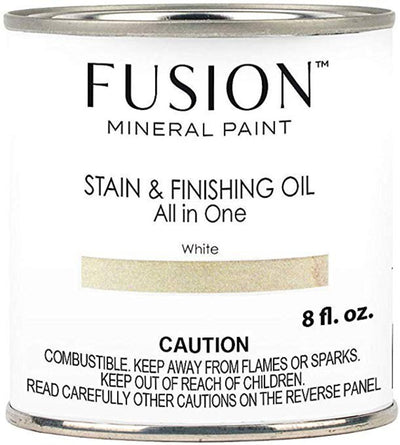 Fusion Mineral Paint-Stain & Finishing Oil - White