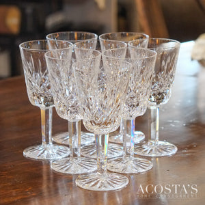 Set of 8 Wine Glasses - Lismore